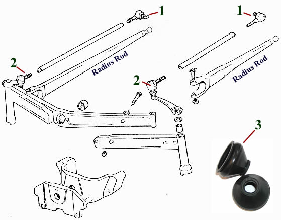E3375 Stabilizer Bar M9272 Fits Ferguson 135 35 35X 835 FE35 TEA20 TED20 TEF20